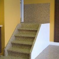 Rubber flooring for garage