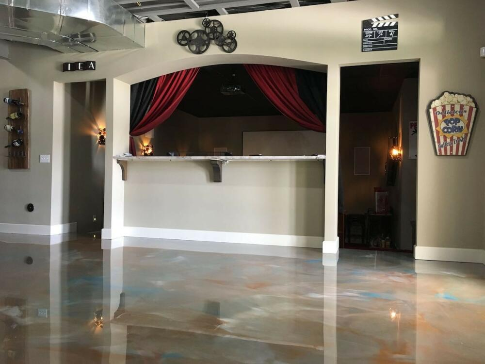 Best Flooring For Basement Ohio Garage Interiors Garage Designers