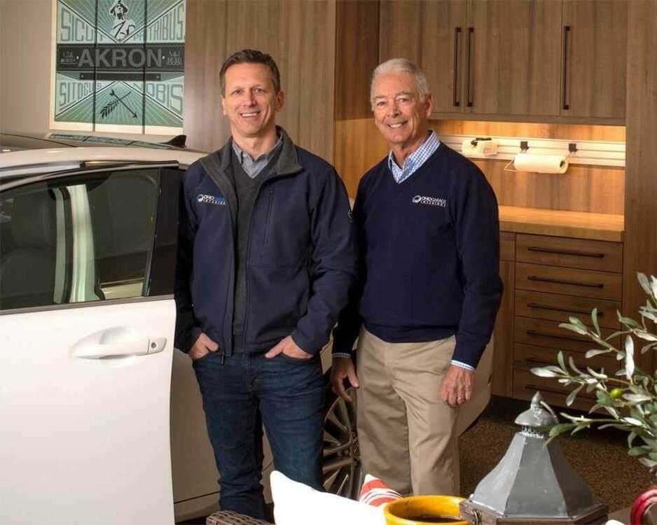 Chad & Scott Gleske Ohio Garage Interiors, Garage Flooring Cabinets and Storage Experts