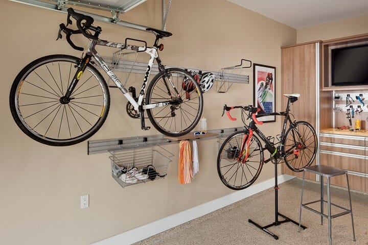 Garage Bike Rack Ohio Garage Interiors