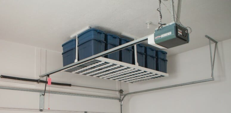 garage ceiling shelf